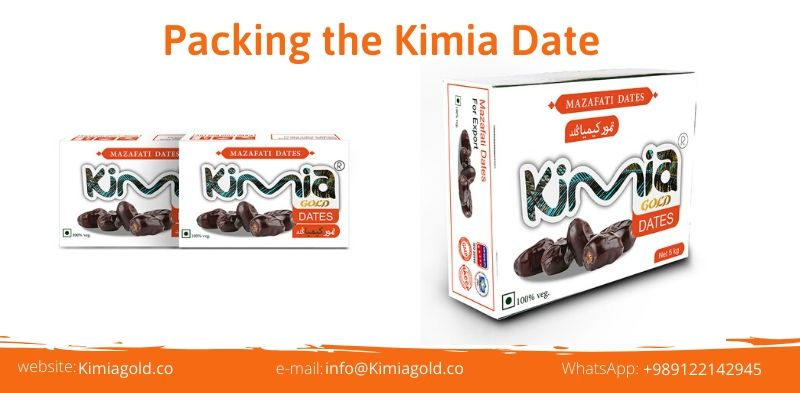 Packing the Kimia Date