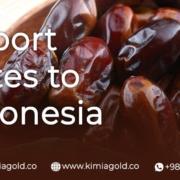 import dates to Indonesia